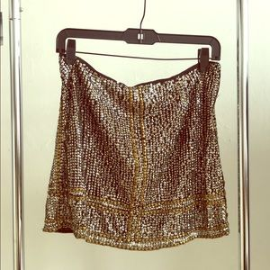 Urban outfitters sequined skirt